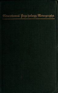 Cover of Deficiency and Delinquency: An Interpretation of Mental Testing