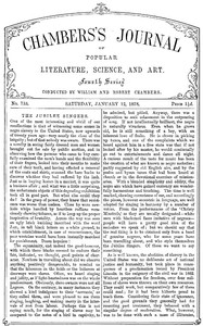 Chambers's Journal of Popular Literature, Science, and Art, No. 733, January 12, 1878