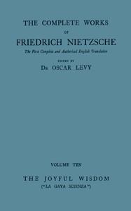 "Cover of The Joyful Wisdom (""La Gaya Scienza"")"