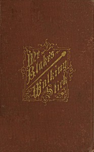 Cover of Mr. Blake's Walking-Stick: A Christmas Story for Boys and Girls