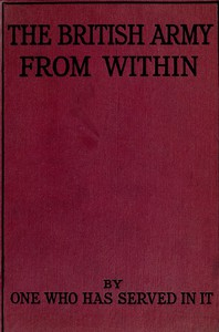 Cover of The British Army from Within