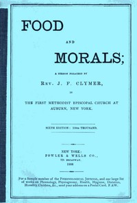 Cover of Food and Morals6th Edition