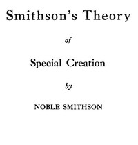 Smithson's Theory of Special Creation