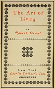 Cover of The Art of Living
