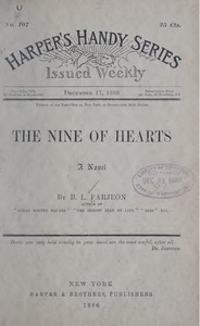 Cover of The Nine of Hearts: A Novel