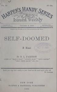 Cover of Self-Doomed: A Novel