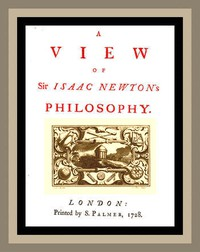 Cover of A View of Sir Isaac Newton's Philosophy