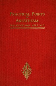 Cover of Practical Points in Anesthesia