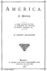 Cover of America: A history