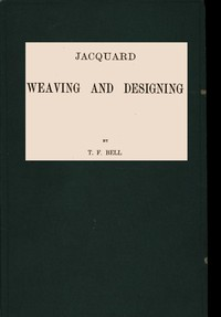 Cover of Jacquard Weaving and Designing