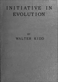 Cover of Initiative in Evolution