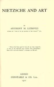 Cover of Nietzsche and Art