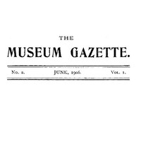 Cover of The Haslemere Museum Gazette, Vol. 1, No. 2, June 1906A Journal of Objective Education and Field-Study