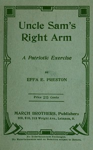 Uncle Sam's Right Arm: A Patriotic Exercise