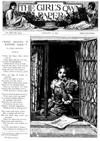 Cover of The Girl's Own Paper, Vol. XX, No. 994, January 14, 1899