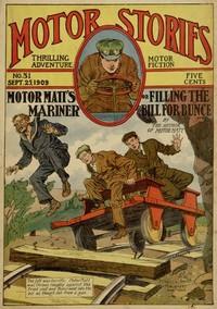 Cover of Motor Matt's Mariner; or, Filling the Bill for Bunce
