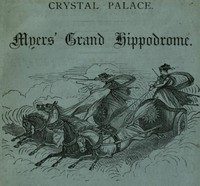 Cover of Myers' Grand Hippodrome