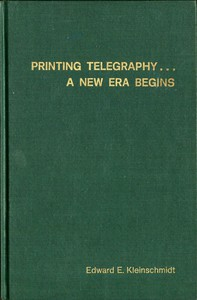 Cover of Printing Telegraphy... A New Era Begins