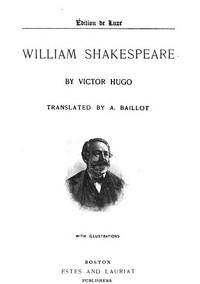 Cover of William Shakespeare