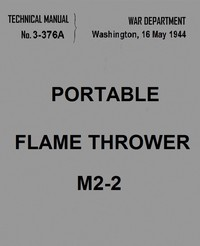 Portable Flame Thrower M2-2