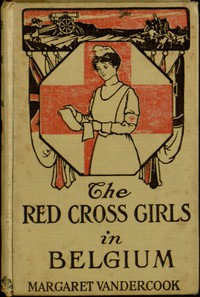 Cover of The Red Cross Girls in Belgium