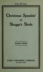 Cover of Christmas Speakin' at Skaggs's Skule