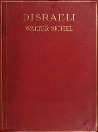 Cover of Disraeli: A Study in Personality and Ideas