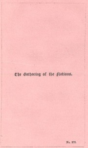 Cover of The Gathering of the Nations