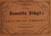 Cover of The Seaside Sibyl; Or Leaves of Destiny: A Fortune Teller in Verse