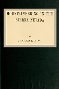 Cover of Mountaineering in the Sierra Nevada