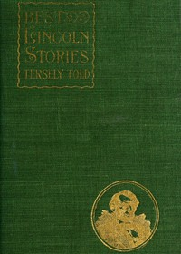 Cover of Best Lincoln stories, tersely told
