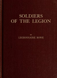 Soldiers of the Legion, Trench-Etched