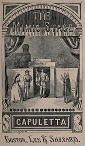 Cover of The Mimic Stage A Series of Dramas, Comedies, Burlesques, and Farces for Public Exhibitions and Private Theatricals