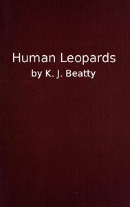 Cover of Human LeopardsAn Account of the Trials of Human Leopards before the Special Commission Court; With a Note on Sierra Leone, Past and Present