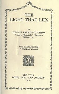 Cover of The Light that Lies