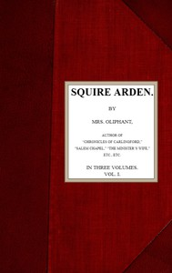 Cover of Squire Arden; volume 1 of 3