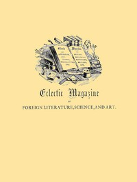 Cover of Eclectic Magazine of Foreign Literature, Science, and Art, June 1885