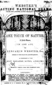 One Touch of Nature: A Petite Drama, in One Act