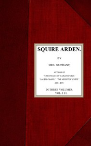 Cover of Squire Arden; volume 3 of 3