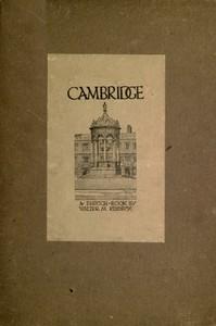Cover of Cambridge: A Sketch-Book