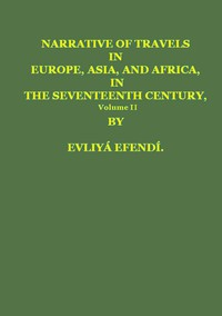 Cover of Narrative of Travels in Europe, Asia, and Africa, in the Seventeenth Century, Vol. II