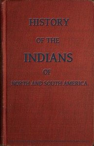 Cover of History of the Indians, of North and South America