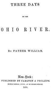 Three Days on the Ohio River