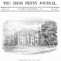 Cover of The Irish Penny Journal, Vol. 1 No. 18, October 31, 1840