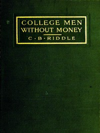 Cover of College Men Without Money
