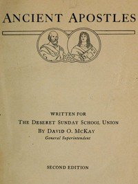 Cover of Ancient Apostles