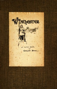 Cover of Winchester: A Sketch-Book