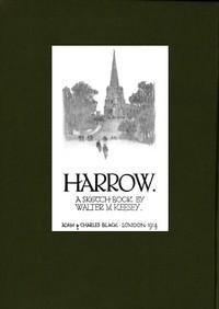 Cover of Harrow: A Sketch Book