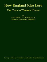 New England Joke Lore: The Tonic of Yankee Humor