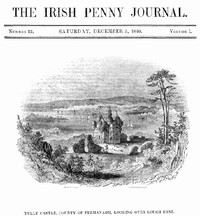 Cover of The Irish Penny Journal, Vol. 1 No. 23, December 5, 1840